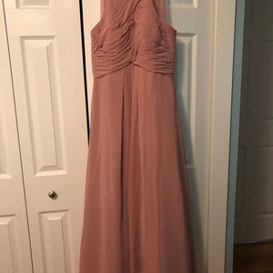 Azazie Ginger Bridesmaid Dress in Dusty Rose